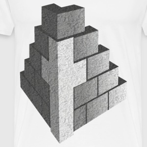 building faith - Men's Premium T-Shirt