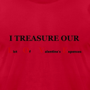Treasure LOVE T-Shirts - Men's T-Shirt by American Apparel