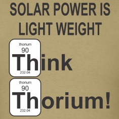 ThoriumSolarPower T-Shirts