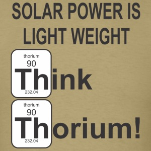 ThoriumSolarPower T-Shirts - Men's T-Shirt