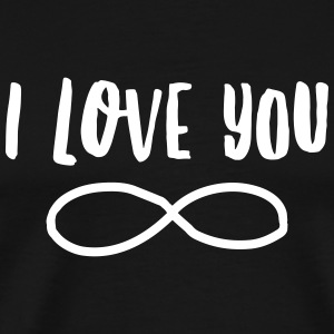 I Love You Forever T-Shirts - Men's Premium T-Shirt