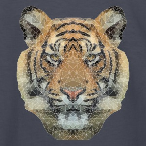 Polygon Tiger Kids' Shirts - Kids' Long Sleeve T-Shirt