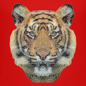 Polygon Tiger Kids' Shirts - Kids' Premium T-Shirt
