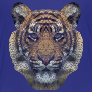Polygon Tiger Transparent Baby & Toddler Shirts - Toddler Premium T-Shirt