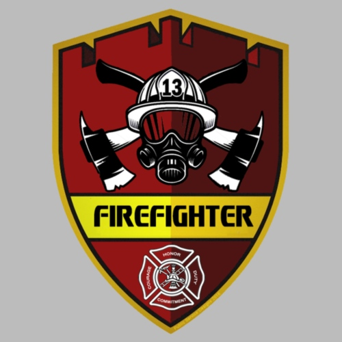 Fire Fighter Badge