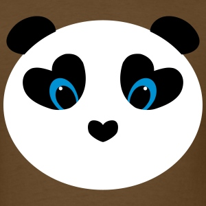 panda white T-Shirts - Men's T-Shirt