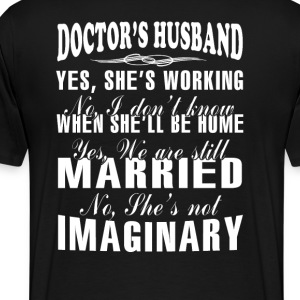 Doctor's Husband - Men's Premium T-Shirt
