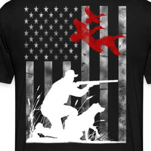 Duck Hunting - Men's Premium T-Shirt