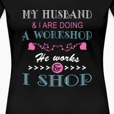 MY HUSBAND & I ARE DOING A WORKSHOP