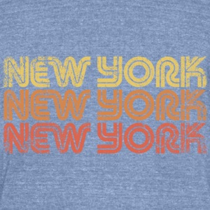 New York Vintage used - Unisex Tri-Blend T-Shirt by American Apparel