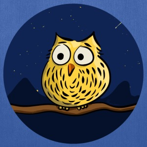 Owl on branch at night Bags & backpacks - Tote Bag