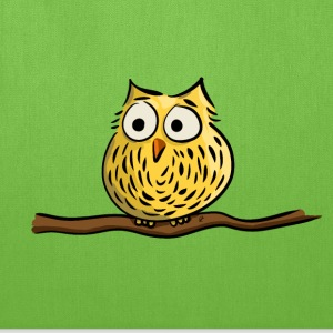 Owl on branch Bags & backpacks - Tote Bag