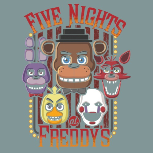 Five Nights At Freddy's Multi Character