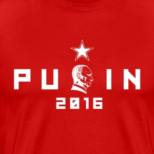 Putin For US President 2016 T-Shirt - Men's Premium T-Shirt