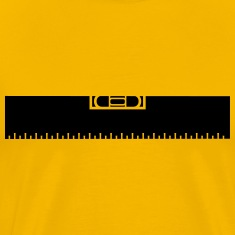 Measure Measure black ruler measure measuring reno T-Shirts