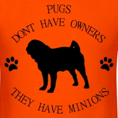 Pugs have minions T-Shirts