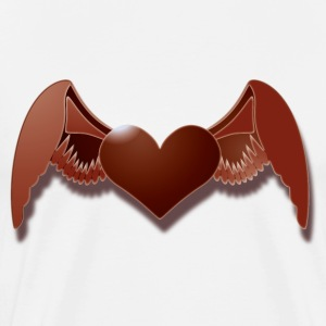 angels heart T-Shirts - Men's Premium T-Shirt