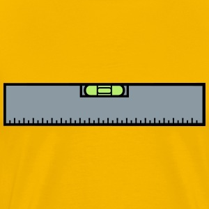 Measure renovate level ruler measure measure measu T-Shirts - Men's Premium T-Shirt