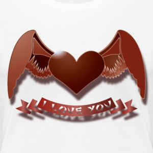 I love you Women's T-Shirts - Women's Premium T-Shirt