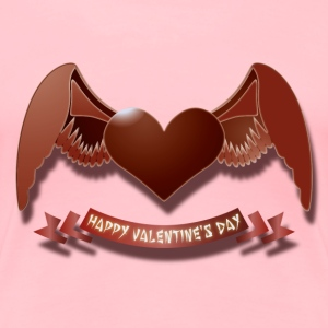 Happy Valentine's Day Women's T-Shirts - Women's Premium T-Shirt