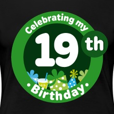19th Birthday Party Gift Women's T-Shirts