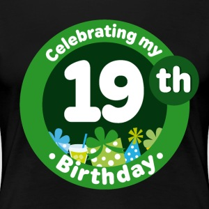 19th Birthday Party Gift Women's T-Shirts - Women's Premium T-Shirt