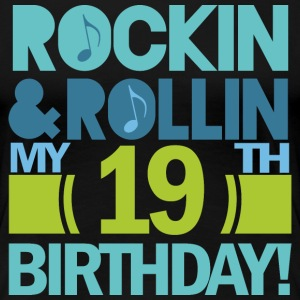19th Birthday Rock n Roll Women's T-Shirts - Women's Premium T-Shirt
