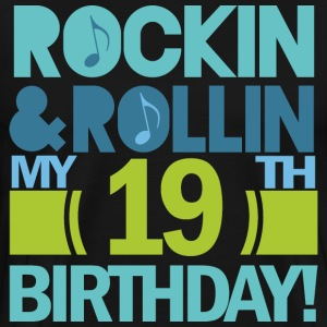 19th Birthday Rock n Roll T-Shirts - Men's Premium T-Shirt