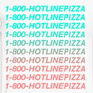 Hotline Bling Pizza - Men's V-Neck T-Shirt by Canvas