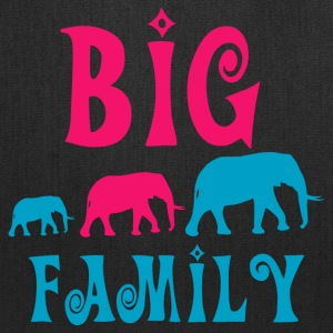 Big elephant family Bags & backpacks - Tote Bag