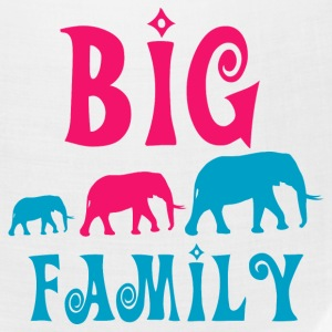 Big elephant family Caps - Bandana