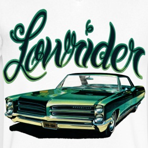 LOWRIDER CAR T-Shirts - Men's V-Neck T-Shirt by Canvas