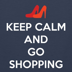Keep Calm and Go Shopping - Men's Premium Tank