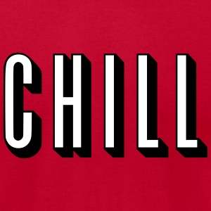 Chill [HQ] T-Shirts - Men's T-Shirt by American Apparel