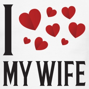 I Love My Wife - Men's Ringer T-Shirt