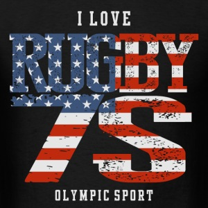 I Love Rugby 7S USA T-Shirts - Men's T-Shirt