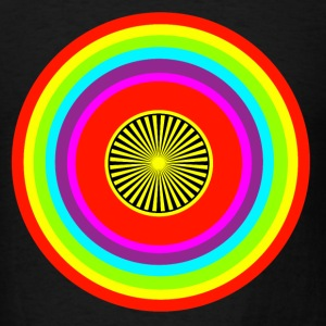 multicolor  circle 1 - Men's T-Shirt