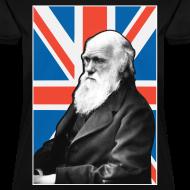 Design ~ Charles Darwin Union Jack t shirt