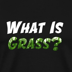 What Is Grass T-Shirt (Men) - Men's Premium T-Shirt