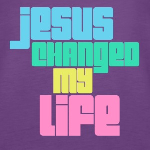 Jesus changed Tanks - Women's Premium Tank Top