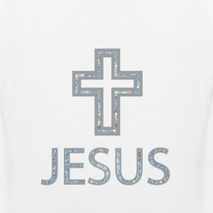 Jesus + Cross Tank Tops - Men's Premium Tank