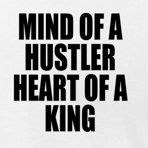 Mind of a Hustler, Heart of a King T-Shirts - Men's T-Shirt by American Apparel