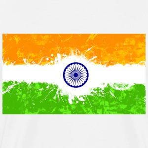 Indian Flag T-Shirts - Men's Premium T-Shirt