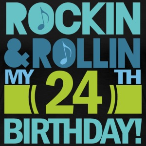 24th Birthday Rock n Roll Women's T-Shirts - Women's Premium T-Shirt