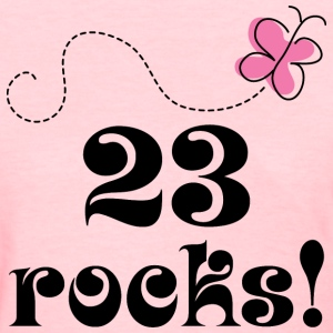 23rd Birthday 23 Rocks Women's T-Shirts - Women's T-Shirt