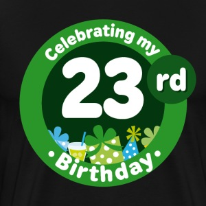 23rd Birthday Party 23 T-Shirts - Men's Premium T-Shirt