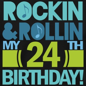 24th Birthday Rock n Roll T-Shirts - Men's Premium T-Shirt