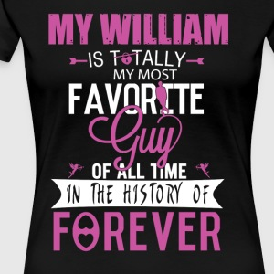 MY WILLIAM - Women's Premium T-Shirt