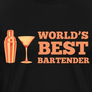 World's Best Bartender T-Shirts - Men's Premium T-Shirt