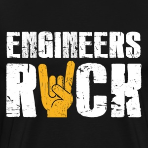 Engineers Rock T-Shirts - Men's Premium T-Shirt